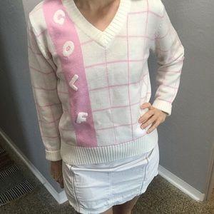 Vintage Golf sweater. So cute s/m